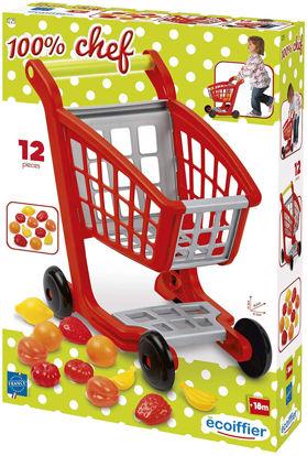 Image de Chariot supermarche garni1225