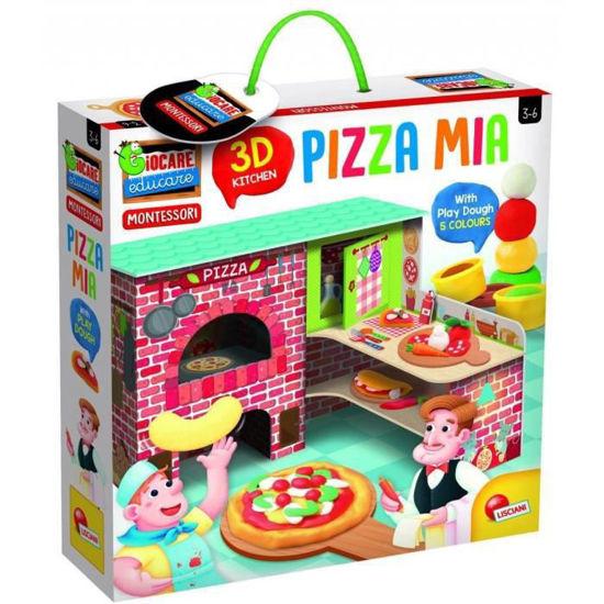 Image de Montessori Pizza 3D+pâte à modeler 76833