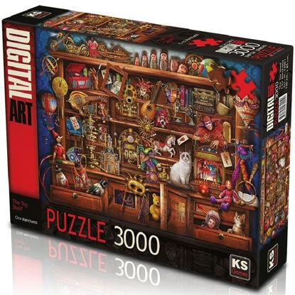 Image de puzzle 3000 the toy shelf