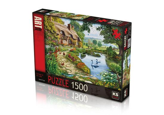 Image de pueele 1500 cottage by the lake ks-22007