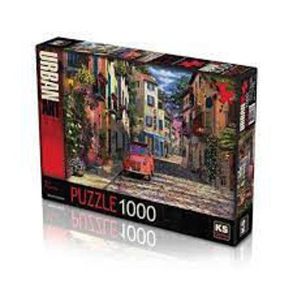 Image de PUZZLE 1000 OLD RIVER COTTAGE