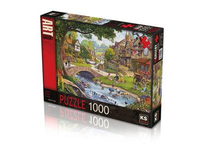 Image de PUZZLE 1000 SUMER VILLAGE