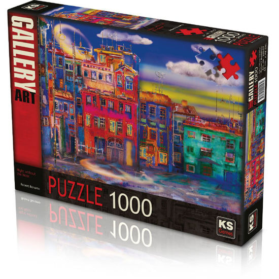 Image de PUZZLE 1000 NIGHT WITHOUT THE MOON