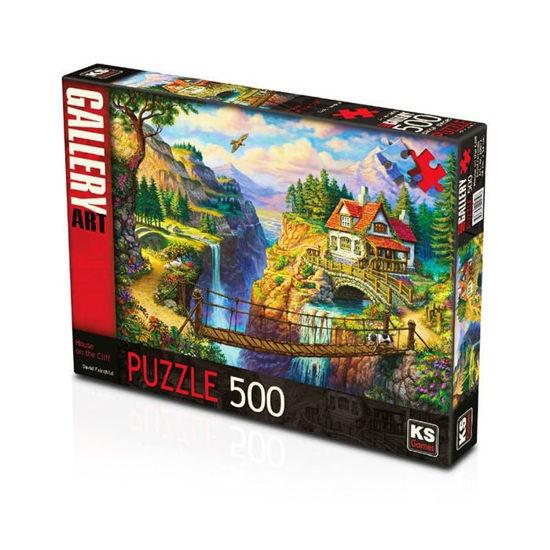 Image de PUZZLE 500 HOUSE ON THE CLIFF