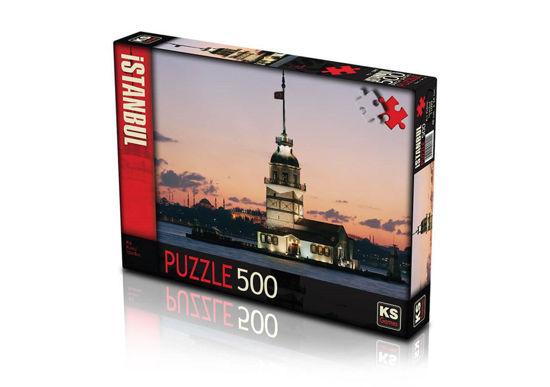 Image de PUZZLE 500 MAIDEN TOWER