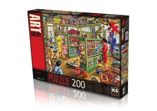 Image de PUZZLE 200PC TOY SHOP