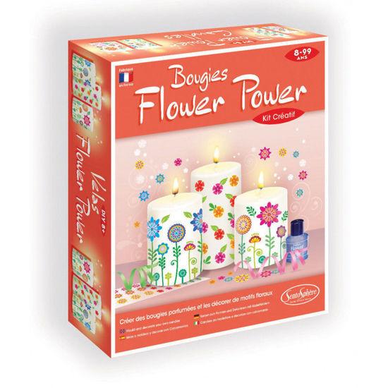 Image de BOUGIES FLOWER POWER