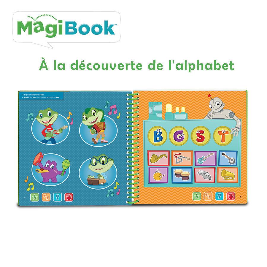 Image de MagiBook - ABC a la decouverte de l'alphabet