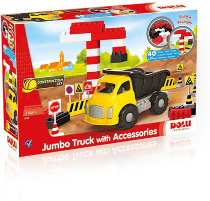 Image de JUMBO TRUCK AVEC LEGO 40PCS