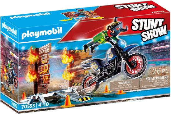 Image de STUNT SHOW 4*4 PILOTE DE MOTO