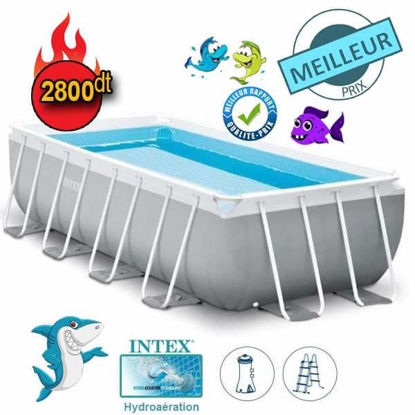 Image de INTEX Kit piscine Prism Frame rectangulaire 4.00 x 2.00 x 1.00