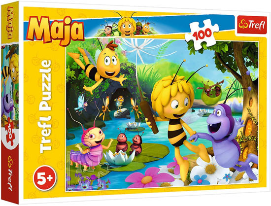 Image de PUZZLE 100 MAYA THE BEE AND FRIENDS 16361