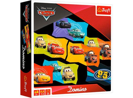 Image de PUZZLE DOMINO CARS 01599