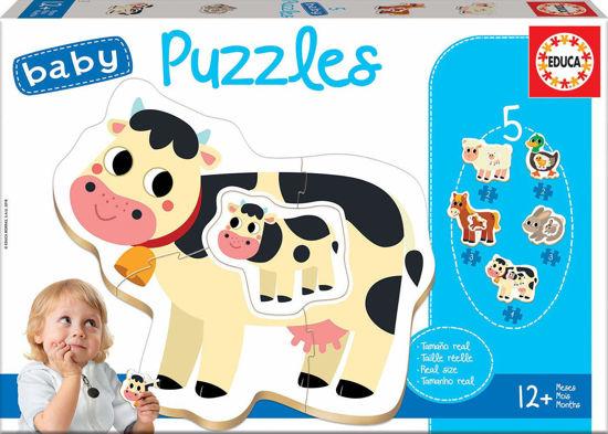 Image de Baby puzzles 'La Ferme' 17574