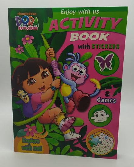 Image de Livre D'activité Dora en englais