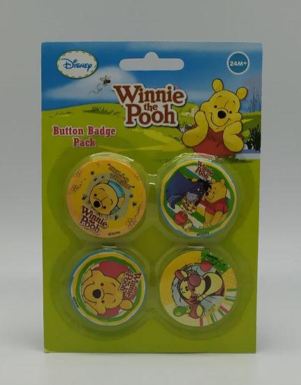 Image de Button badge Winnie the pooh