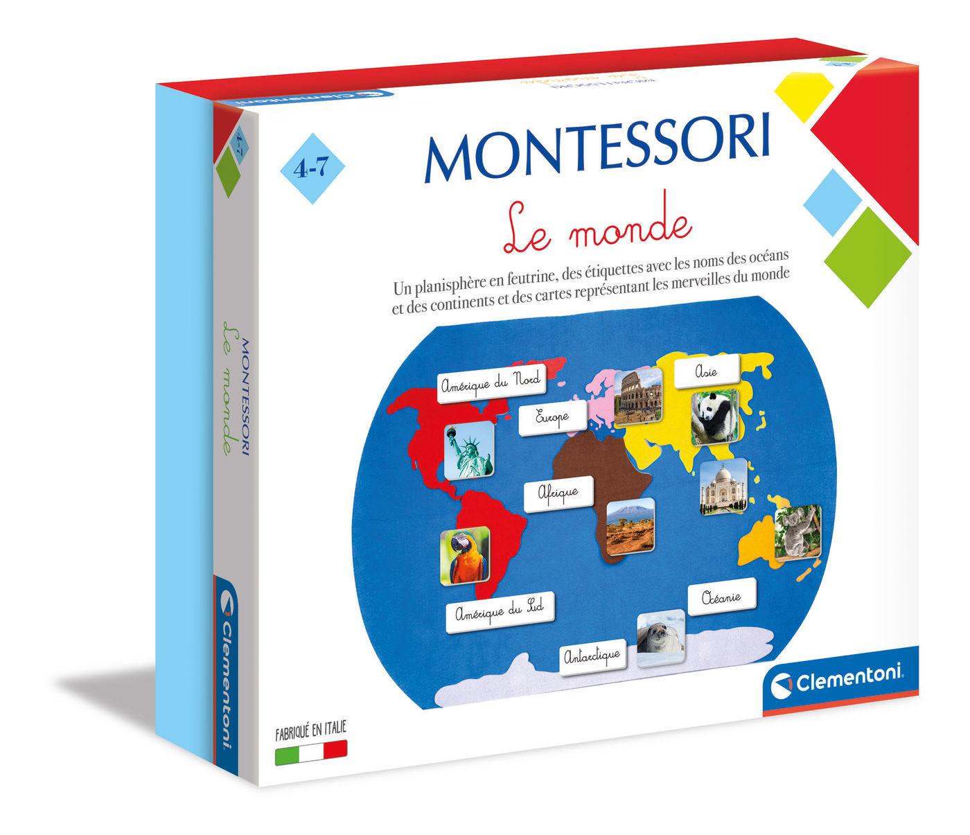 Image de MONTESSORI LE MONDE