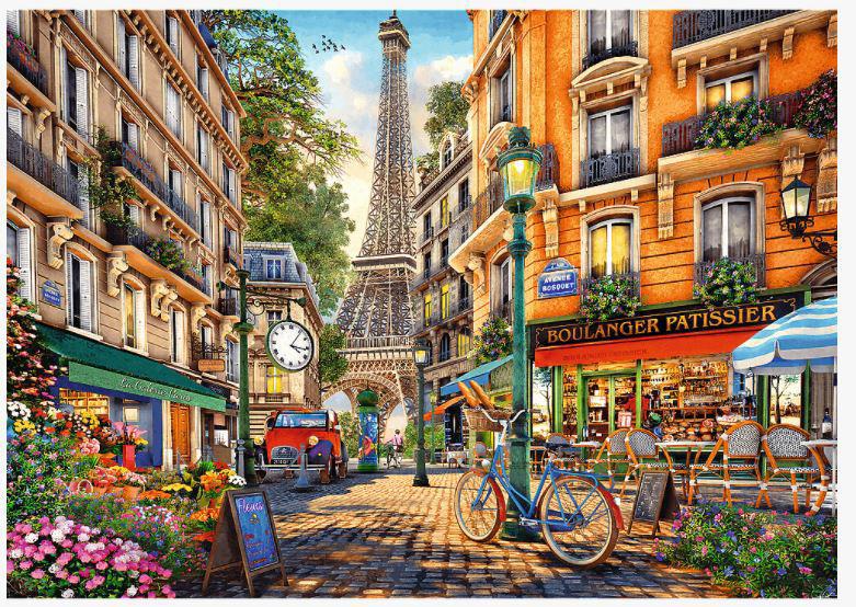 Image de PUZZLES 2000 AFTERNOON IN PARIS 27121
